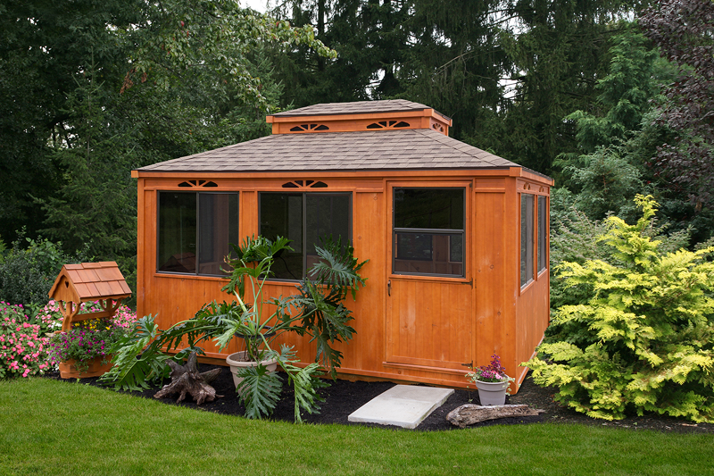 Gazebo S Amp Cabana S Maine Sheds Modern Woodtech